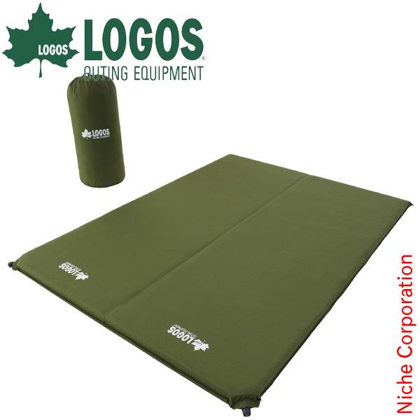 ロゴス 超々厚・高弾力 セルフインフレートマット・DUO AI-LIMITED 72884141 キャンプ用品
