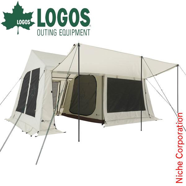 【カードでポイント+9倍】ロゴス グランベーシック リバイバルコテージ L-BJ テント 71805546 キャンプ用品