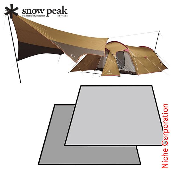 スノーピーク タープ すぐキャン エントリーパックTT マットシートセット キャンプ用品 初心者 テント タープ スターター テント ファミリー