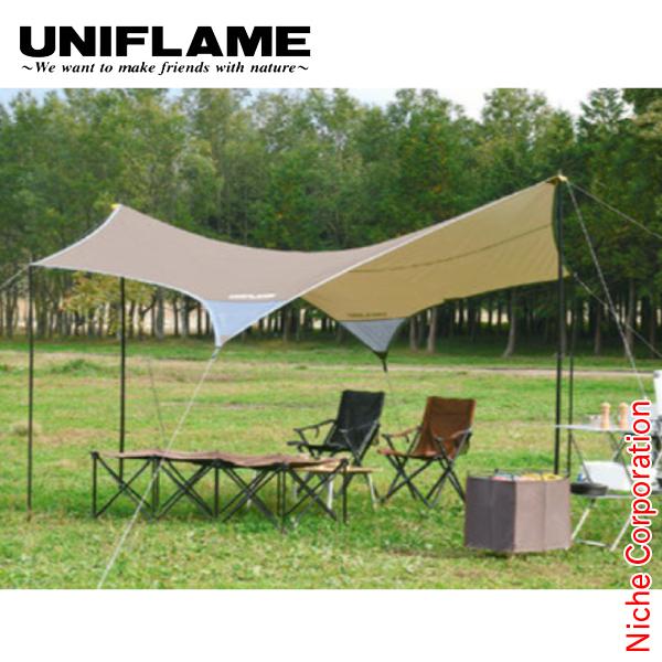 ユニフレーム タープ REVOタープII (M) TAN キャンプ BBQ バーベキュー アウトドア