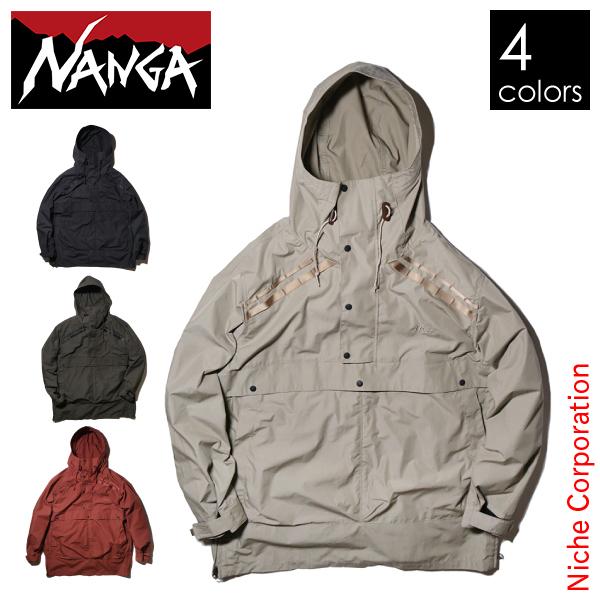 ナンガ タキビフィールドアノラックパーカー メンズ TKB-FA-PK アウトドア ウェア NANGA キャンプ ファッション 本格