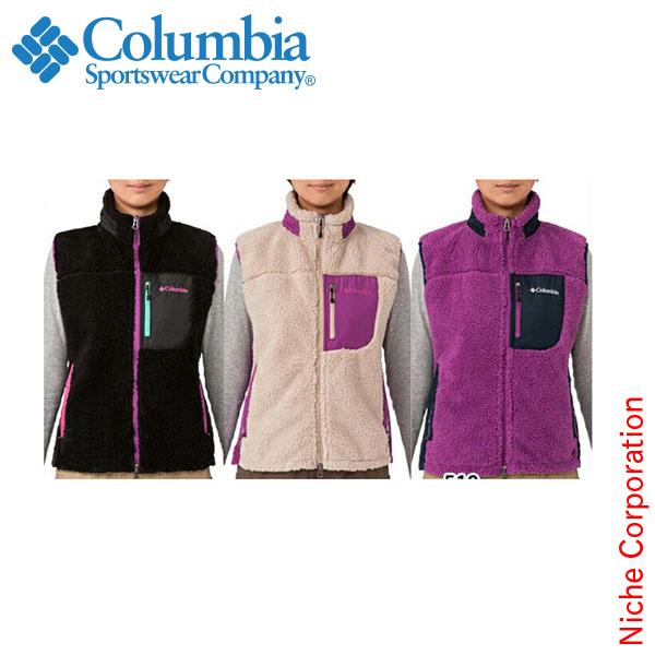 コロンビア ウィメンズアーチャーリッジベスト 女性用[PL1990]Women's Archer Ridge Vest[ベスト 中綿 ウィメンズ レディースcolumbia][nocu][dis-out][あす楽] sl-1902-top アウトレット セール sale