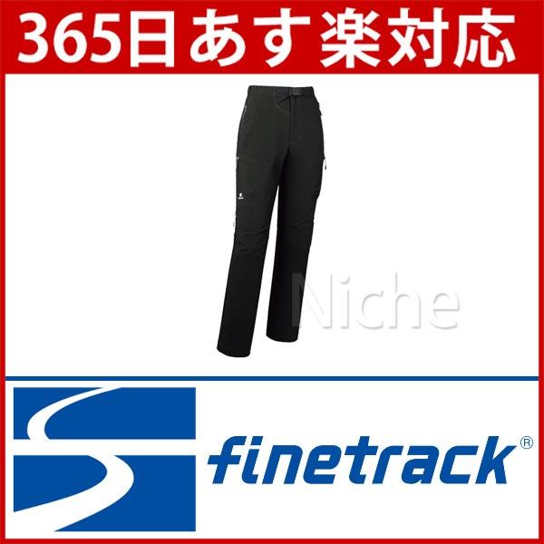 finetrack ストームゴージュアルパインパンツロング WOMEN'S (ブラック) [ FBW0503(BK) ][あす楽]