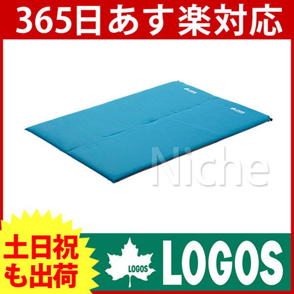 ロゴス (超厚)セルフインフレートマット・DUO 72884140 [P10] あす楽 キャンプ用品