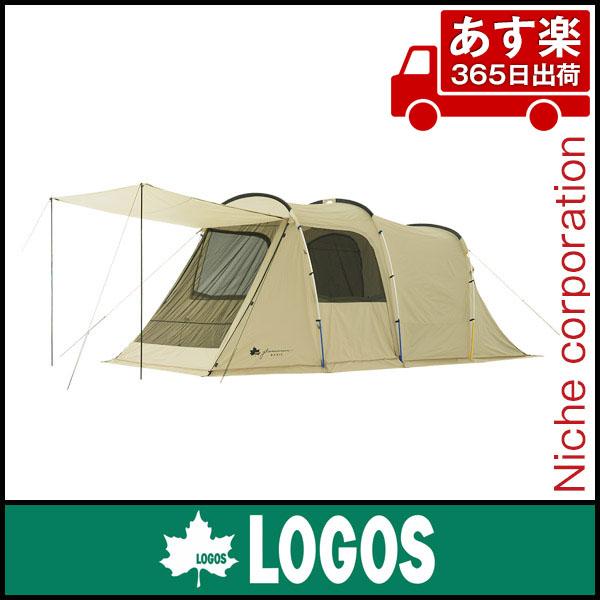 ロゴス グランベーシック トンネルドーム XL-AG 71805023 [P5] あす楽 テント キャンプ用品