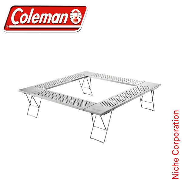コールマン coleman ファイアープレイステーブル 2000010397 テーブル アウトドア テーブル キャンプ 折りたたみ BBQ オートキャンプ [P10] あす楽 キャンプ用品 チェア