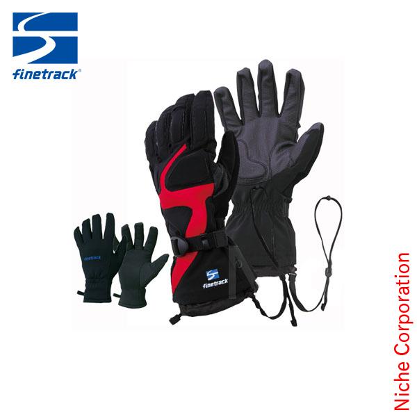 finetrack 正規販売店 ファイントラック レインウェア エバーブレス アイスグローブ ユニセックス 厳冬 防水 透湿 手袋 FAG0402 nocu