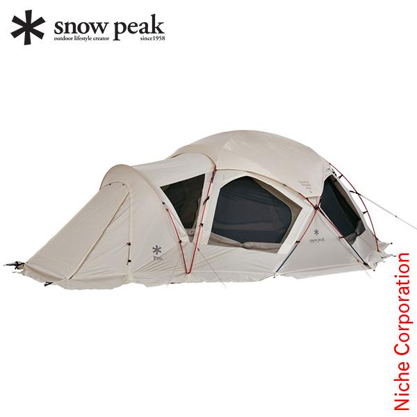 スノーピーク ドックドーム Pro.6 アイボリー SD-507IV [P5] テント あす楽 キャンプ用品 gr-1903SS