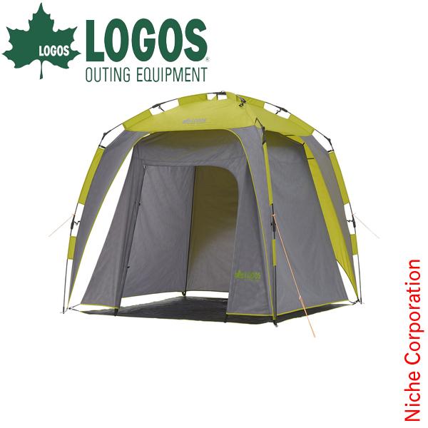 LOGOS クイックどこでもターププラス220-L 71457622 日よけ テント タープ キャンプ UV 山 海 日よけ UVカット テント [P10] あす楽 キャンプ用品 災害用トイレ
