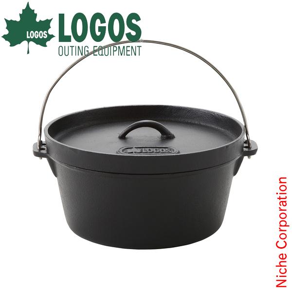 LOGOS SLダッチオーブン12inch・ディープ(バッグ付) 81062232 [P10] あす楽 キャンプ用品