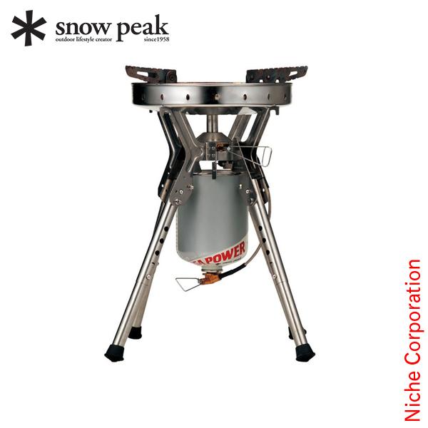 スノーピーク バーナー ギガパワーLIストーブ 剛炎 GS-1000 アウトドア 1バーナー キャンプ 強力
