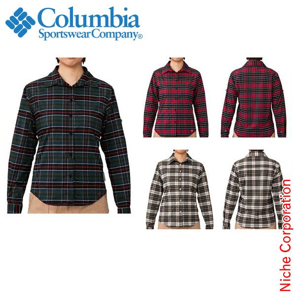 コロンビア ウィメンズカシオペアシャツ 女性用[PL7230]Women's Cassiopeia L/S Shirt[保温 撥水 防汚 ウィメンズ レディースcolumbia][あす楽]
