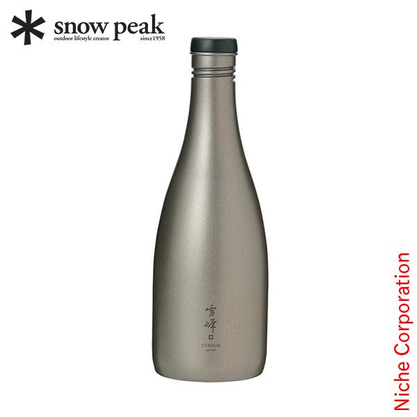 スノーピーク テーブルウェア 酒筒 ( さかづつ ) Titanium TW-540 アウトドア 日本酒 チタン