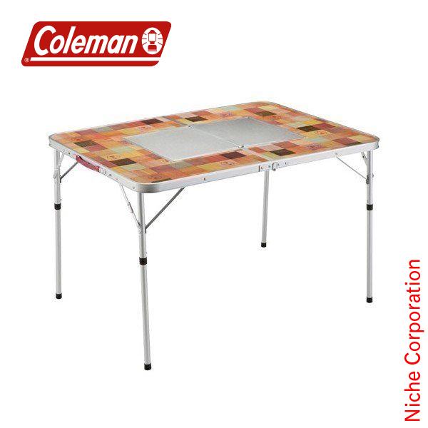 コールマン ナチュラルモザイクBBQテーブル/110プラス 2000026760  キャンプ用品 チェア