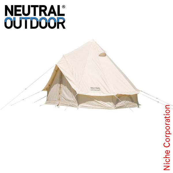 ニュートラルアウトドア GE テント 2.5m 23456 コンパクトキャンプ用品 [P10] ワンポールテント