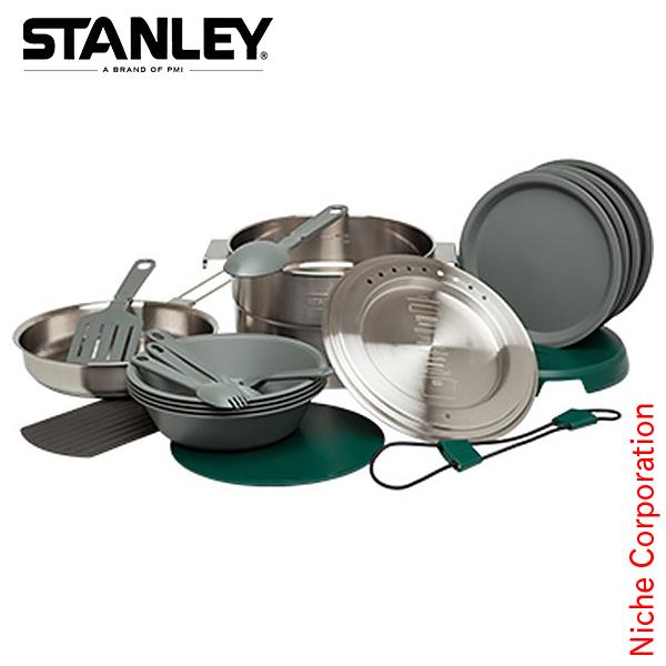 スタンレー ベースキャンプクックセット [ 02479-004 ] シルバー[クッカー 調理 セット アウトドア用品]