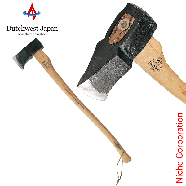 ヘルコ ヘリテイジ ルーカス アックス [ HR-3 ] 薪割り斧 斧 薪 薪割り ( ダッチウエスト Dutchwest )