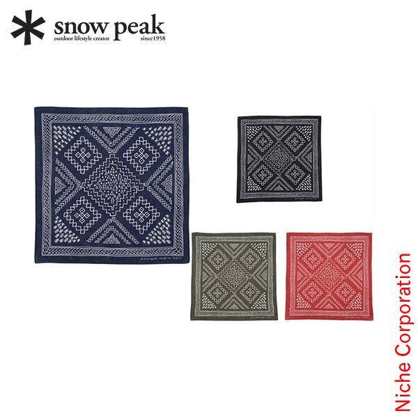 SNOW PEAK noasobi印花大手帕[UG-219][SNOW PEAK shop in shopsnowpeak印花大手帕秋天冬天][P5][]