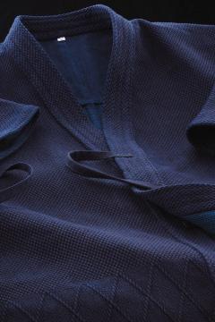 剣道着 武州一 極上手刺風二重 「武州刺」 #200(1.5~3号)【刺繍無料(3文字まで)】