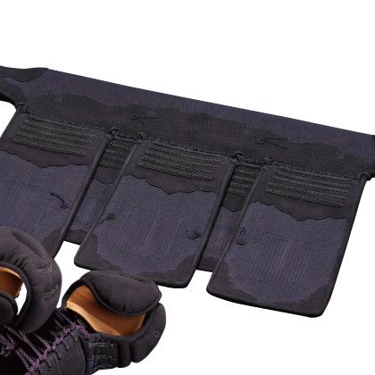 剣道具 剣道防具 垂 5.0m/mミシン刺クラリーノ仕立