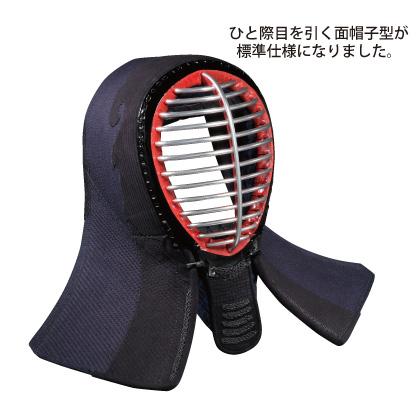 剣道面 剣道防具 面 少年用 5.0m/mミシン刺 ラリーノナナメ刺