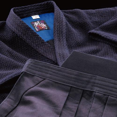 剣道着袴セット 剣舞<KENBU>正藍染二重剣道衣&正藍染8800番袴