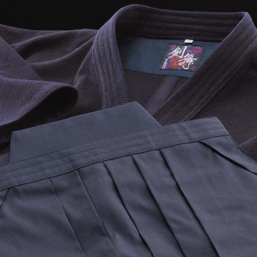 剣道着袴セット 剣舞 実戦型小刺剣道衣 & 正藍染袴8800番