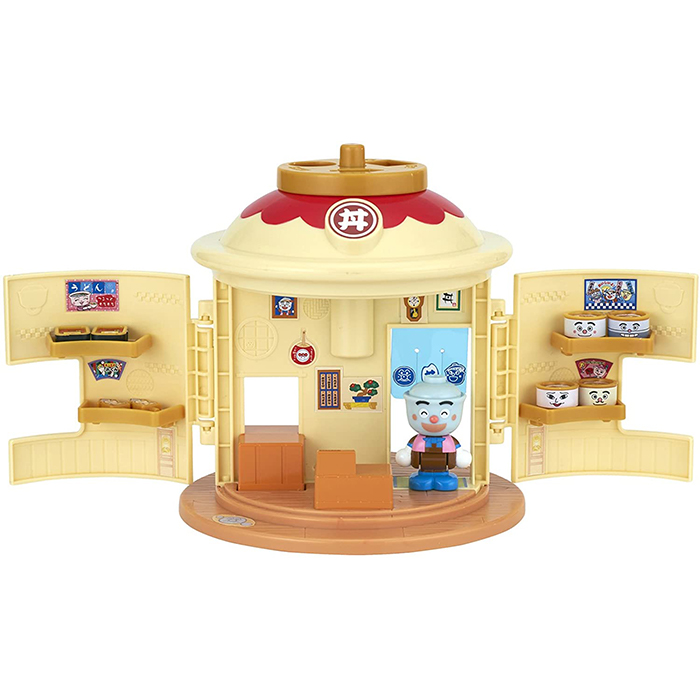 アンパンマンタウンシリーズより ようこそ たきたて 全店販売中 てんどんまんのどんぶりショップが登場 アンパンマン おもちゃ アンパンマンタウン てんどんまんのどんぶりショップ 知育 2歳 女の子 誕生日 男の子 3歳 1歳 玩具 プレゼント クリスマス 売れ筋ランキング