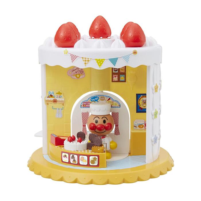 アンパンマンタウンに2面で遊べるスイーツショップが登場 アンパンマン おもちゃ アンパンマンタウン ようこそ わくわく アンパンマンスイーツショップ 誕生日 知育 WEB限定 安い 女の子 クリスマス 男の子 プレゼント