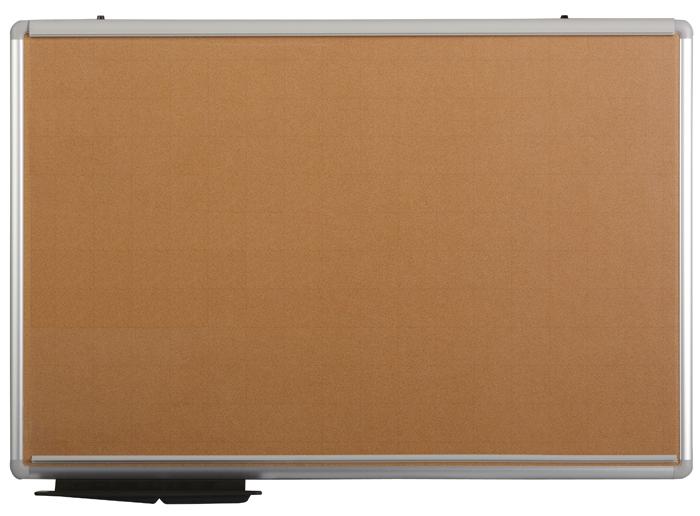 【送料無料】ピン不要(粘着式)ピタックス掲示板(フィルム付)・コルク調PT-23/板面サイズ:900×600mm