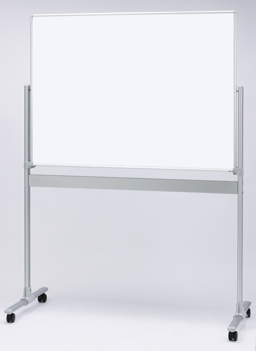【送料無料】ホーローホワイトボード(脚付)片面タイプ/HM-12T/板面サイズ:1200×909mm