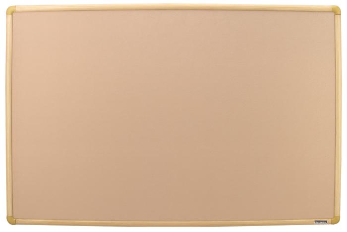 【送料無料】マジックテープ使用可・木目調枠掲示板WT-303/板面サイズ:900×600mm