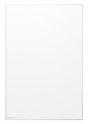 【送料無料】フレームレス仕様・メタルラインML-320/板面サイズ:888×592mm(横型用 吊金具)