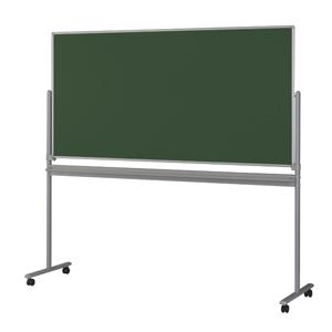 【送料無料】黒板(チョークボード)両面脚付ボード/SR-01T板面サイズ:1800×909mm