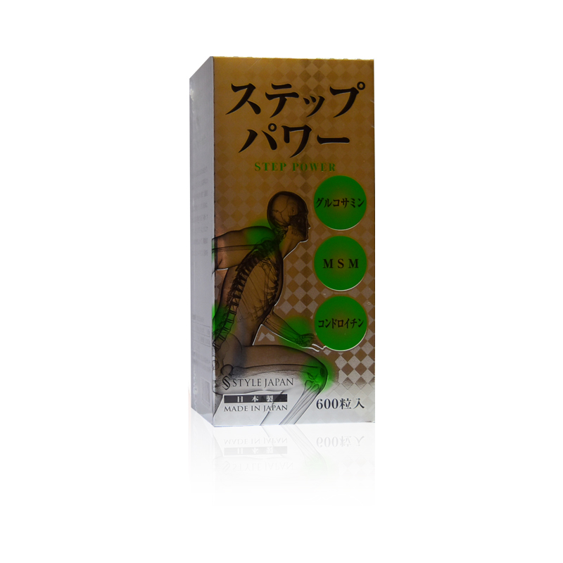 第一薬品 STYLEJAPAN スタイルジャパン ステップパワー STEP POWER 万歩力 600粒