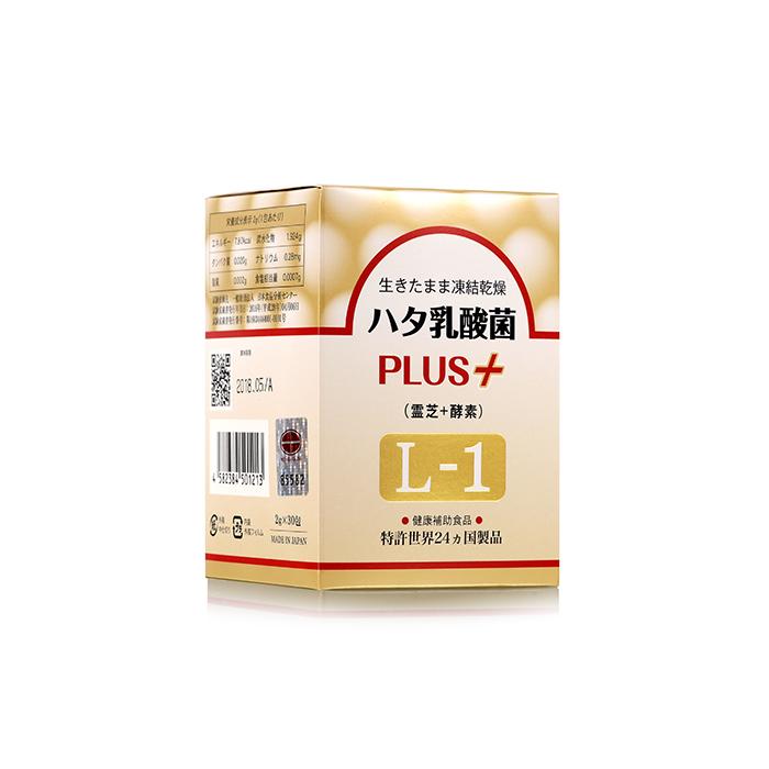 ハタ乳酸菌 PLUS+ (霊芝+酵素)L-1
