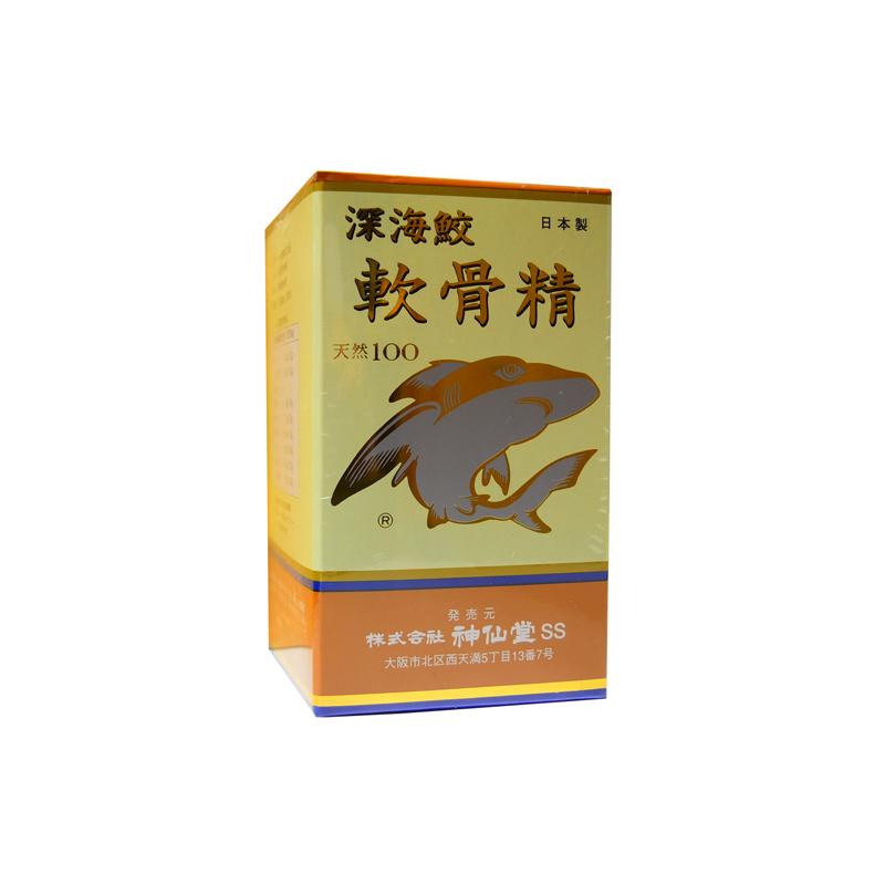 神仙堂 深海鮫 軟骨精 200粒