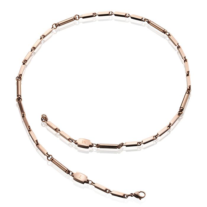 TOMA 6M 男性 磁気ネックレス ピンクゴールド ゲルマニウム