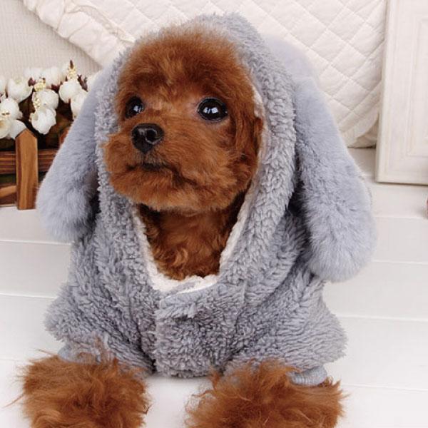 犬の服 ネコの服 ペット もこもこ 服 ウサギ かわいい コスプレ わんちゃん入学祝い 就職祝い