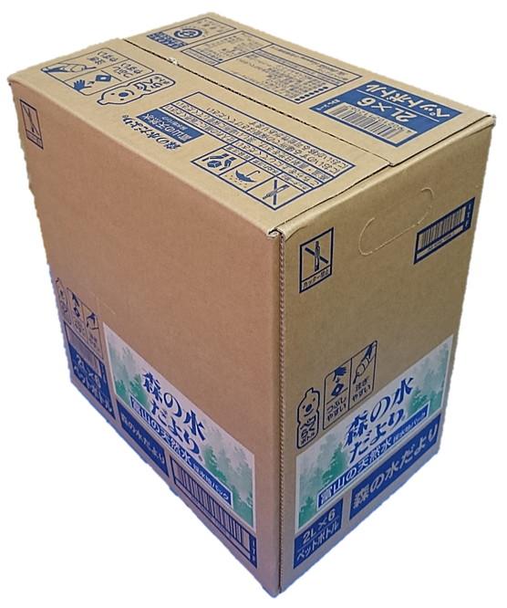 [並行輸入品] ハイクオリティ コカ コーラ 森の水だより 2l 富山の天然水 PET 1ケース 2000ml 計6本