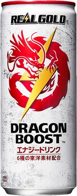 [コカ・コーラ] リアルゴールド ドラゴンブースト 250ml 缶 (1ケース 計30本入り)