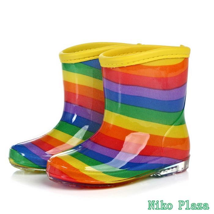 長靴 キッズ レインブーツ 超特価SALE開催 男の子 女の子 カラフル レインボー 通園 マルチカラー 大決算セール 通学 可愛い かわいい 雨具