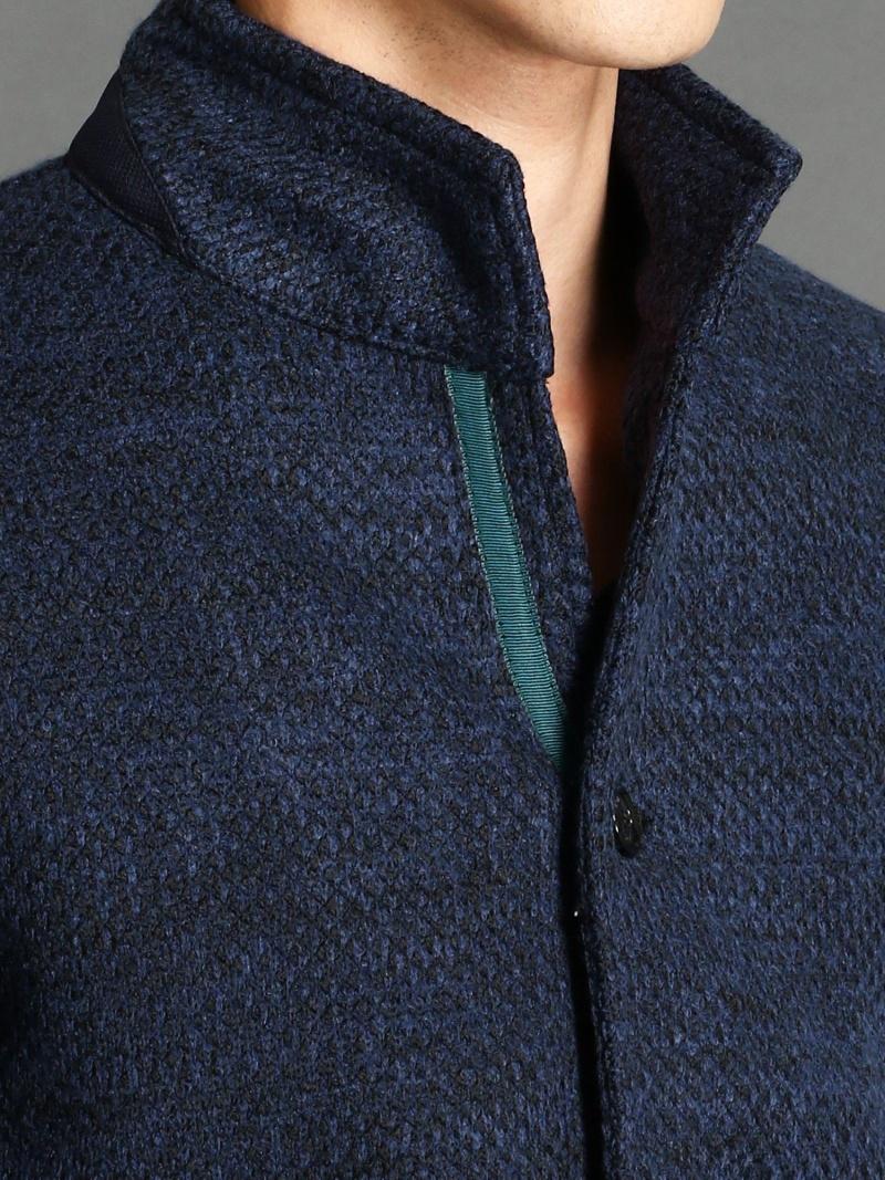 Rakuten Fashion スタンドカラーブルゾン MONSIEUR NICOLE ニコル コート ジャケット コート ジャケットその他 ネイビー グレー 送料無料OulPZiwTkX