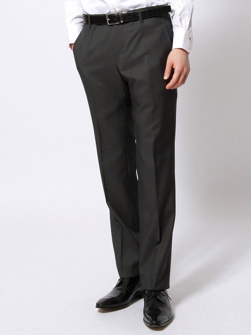 [ Fashion]スラックス NICOLE CLUB FOR MEN ニコル パンツ/ジーンズ パンツその他 グレー ブラック【】:NICOLE
