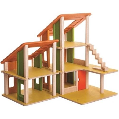 プラントイ シャレードールハウス2 誕生日 誕生日プレゼント 木のおもちゃ 木製 子供 ドイツ 女の子 女 出産祝い 3歳 4歳 5歳 おもちゃ 知育玩具 家具 ドールハウスキット おしゃれ かわいい こども 子ども キッズ 幼児|クリスマスプレゼント クリスマス ままごと おままごと
