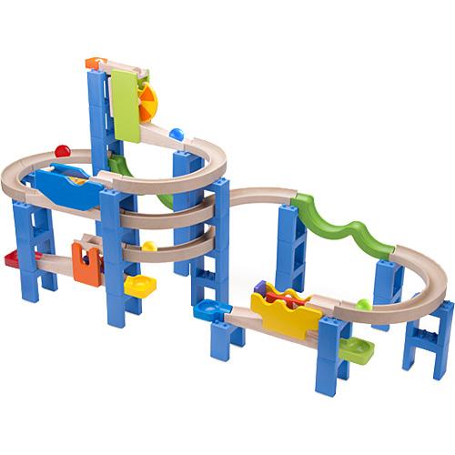 ワンダーワールド Trix Trackスパイラルコースター ボール転がし 積み木 ブロック | 誕生日 4歳 男 3歳 女 5歳 女の子 子供 木製 誕生日プレゼント 男の子 木のおもちゃ キッズ つみき 子ども ギフト クリスマス プレゼント クリスマスプレゼント 知育玩具 幼児 玉転がし