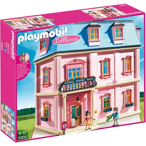 送料無料 プレイモービル ドールハウスシリーズ デラックスドールハウス ごっこ遊び 3歳 4歳 5歳 誕生日プレゼント 誕生日 男の子 男 女の子 女 | おもちゃ オモチャ ドールハウス 幼児 ドイツ キッズ ハウス 家 子供 人形 フィギュア 知育玩具 playmobil 子ども玩具 こども