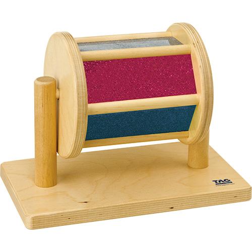 送料無料 TAG社 回転式視覚刺激ドラム 知育玩具 教育 木のおもちゃ 木製 知育 木製玩具 玩具 子供 キッズ 幼児 保育園 幼稚園 学習