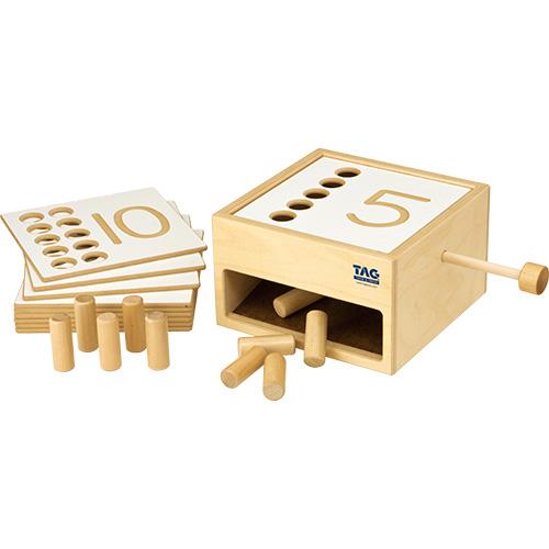 送料無料 TAG社 転がり落ちてくる数の箱 知育玩具 教育 木のおもちゃ 木製 知育 木製玩具 玩具 子供 キッズ 幼児 保育園 幼稚園 学習