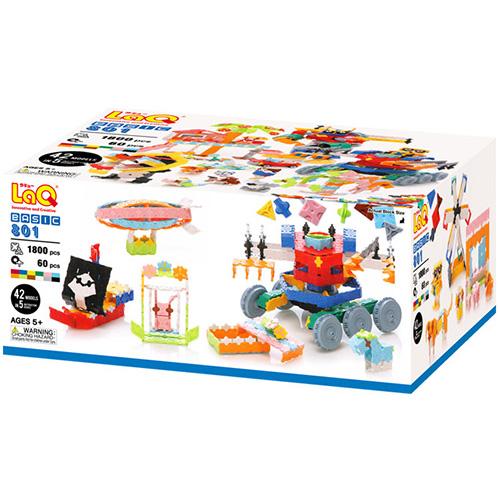 送料無料 ラキュー LaQ ベーシック801 ブロック おもちゃ | 誕生日 男 知育玩具 6歳 女 5歳 女の子 子供 誕生日プレゼント 男の子 小学生 こども キッズ 組み立てる らきゅー 子ども オモチャ プラモデル クリスマス プレゼント クリスマスプレゼント 子どもおもちゃ